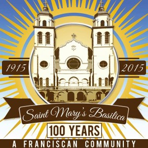 St. Mary's Basilica celebrates 100 years from 1915 to 2015.