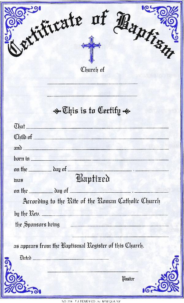 sacramental certificates  u2013 st  mary u0026 39 s basilica
