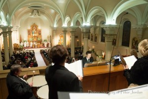 choir and instruments