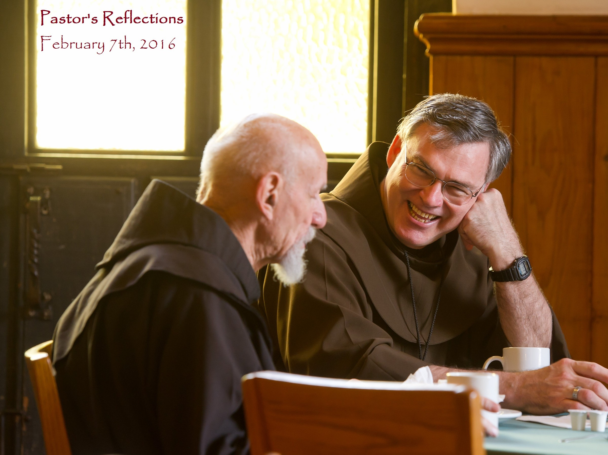 Pastors Reflections