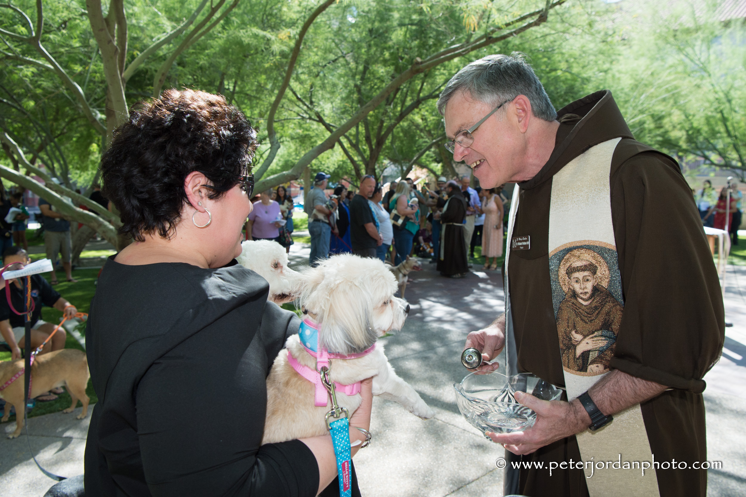 Blessing of the Animals – St  Mary's Basilica