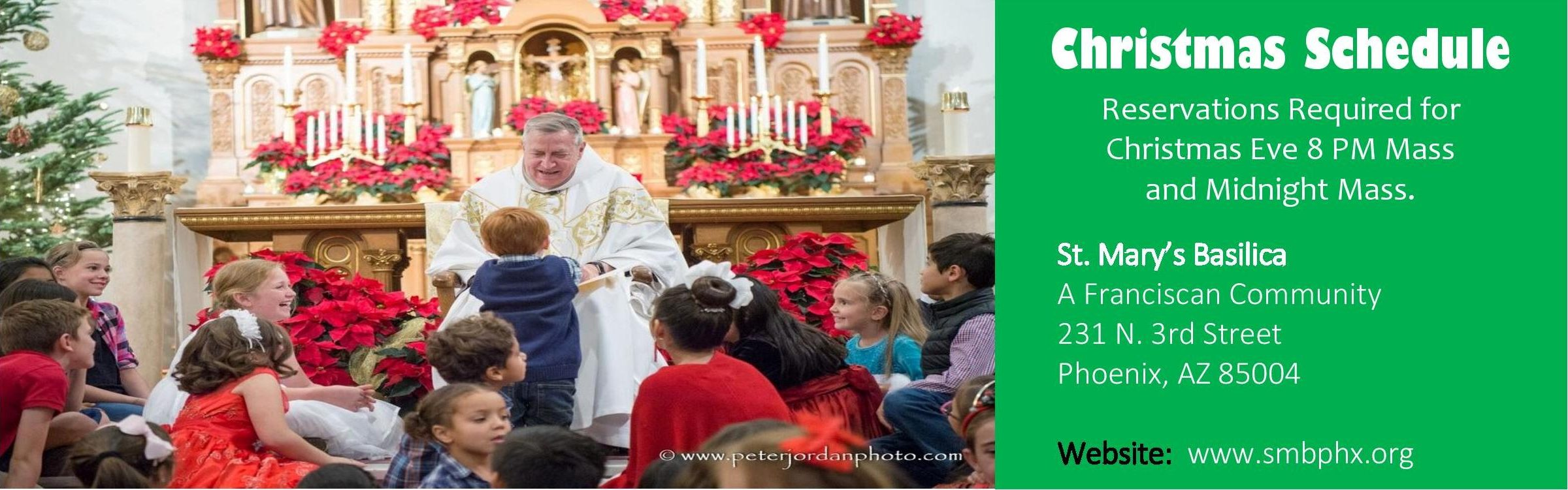 Christmas Ever Midnight Mass Schedule 2020 Advent and Christmas Schedule – St. Mary's Basilica